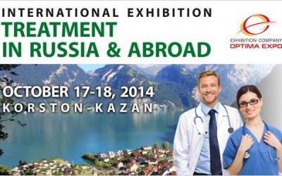 DOC STELLT AUF DER MESSE IN KAZAN (TATARSTAN) AUS