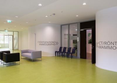 Eingang Radiologie